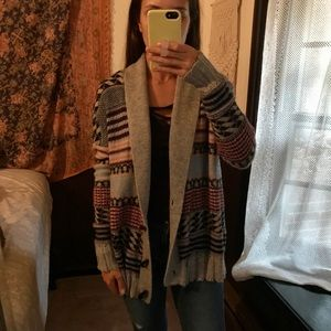 Pacsun brand Kirra patterned Cardigan